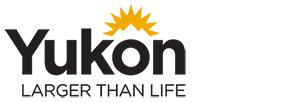 Logo Larger than live, Travel Yukon